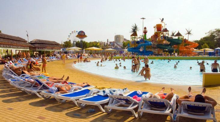 отдых авапарк Золотой пляж в Анапе