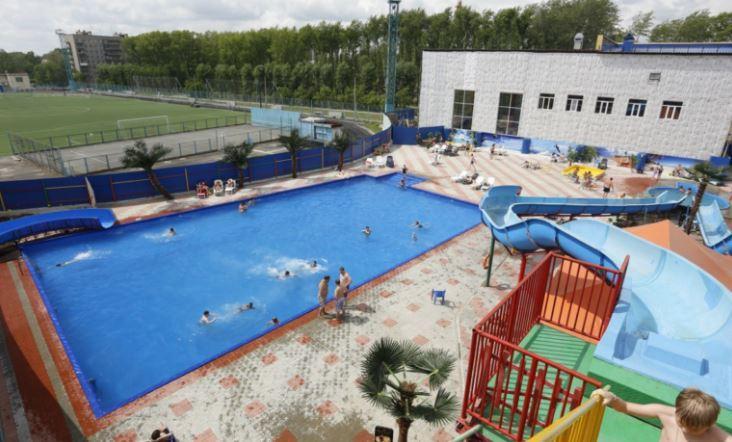 Аквапарк Лидер-Лэнд в Новосибирске