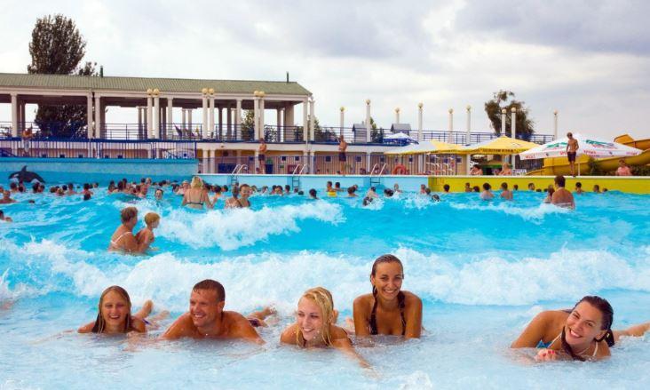 авапарк Золотой пляж в Анапе