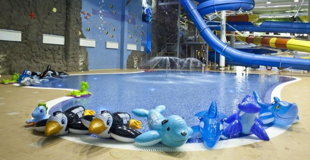 Детский бассейн в аквапарке