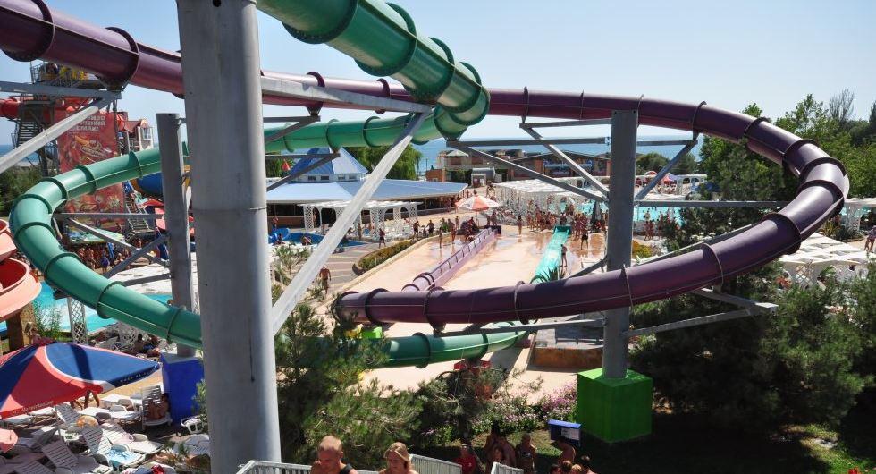 Аквапарк «Водный парк» в Судаке