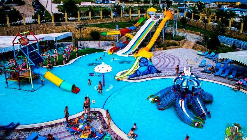 детская зона Аквапарк Коктебель в Крыму