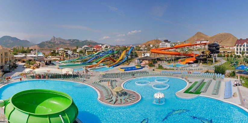 Аквапарк Коктебель в Крыму