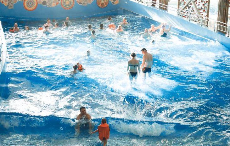 Аквапарк «АкваРио» в Омске