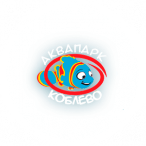 Логотип аквапарка Коблево, официальный сайт