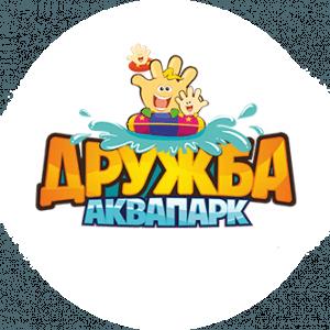 Логотип аквапарка Дружба в Кирове официальный сайт