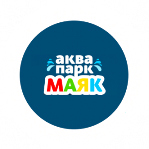 Логотип аквапарка Маяк в Сочи официальный сайт
