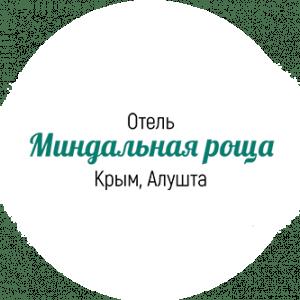 Логотип аквапарка Миндальная роща официальный сайт