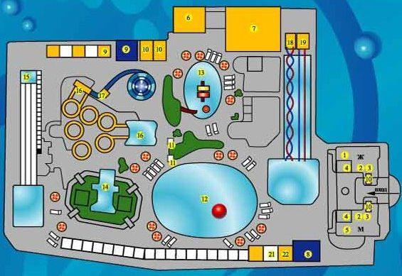 план Аквапарк «Морская звезда» в п.Лазаревское