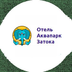 Логотип Аквапарка Затока