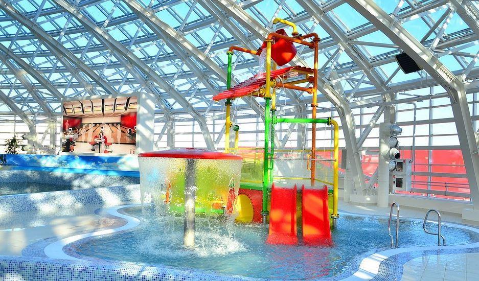 Детская зона аквапарк Галактика Когалым
