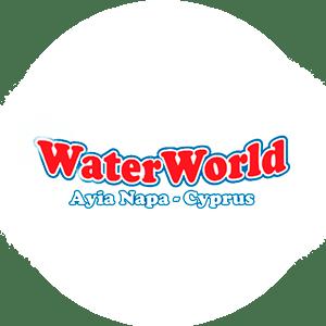 Логотип аквапарка Айя Напа на Кипре WaterWorld