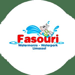 Логотип аквапарка Фасури официальный сайт