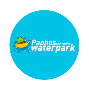 Логотип аквапарка Пафос с официального сайта