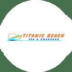 Логотип аквапарка Титаник в Хургаде